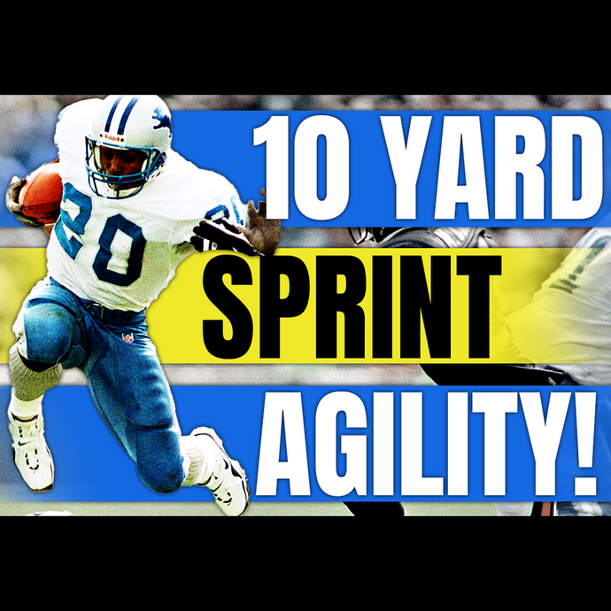 10 Yard Sprint Agility Building