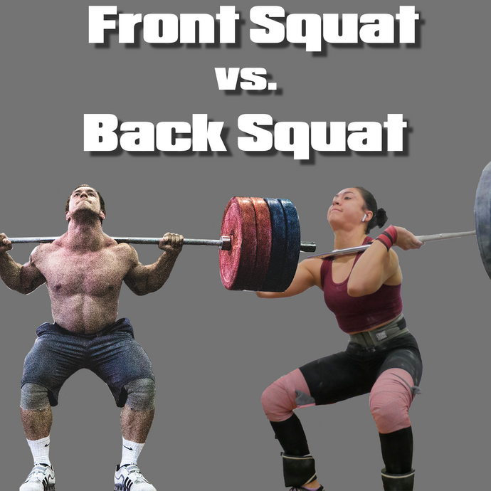 Front Squat vs. Back Squat