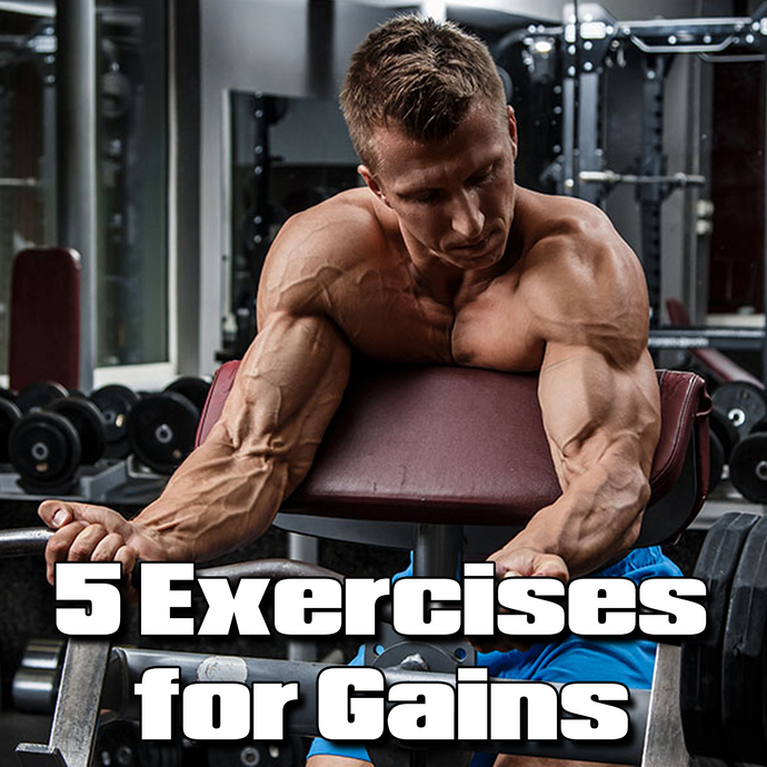 Five Monster Bicep Exercises