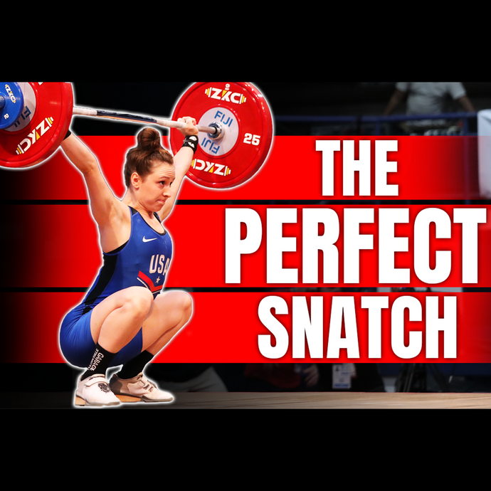How To Snatch Like An Olympic Athlete In 2 Minutes!