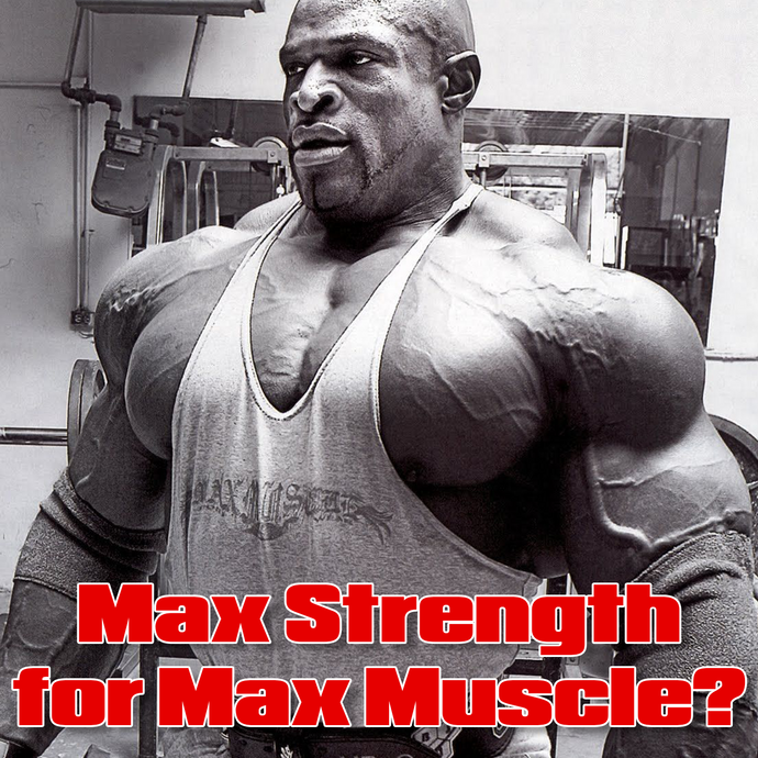 Max Strength for Maximum Size