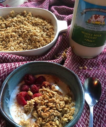 Nourishing Traditions Granola