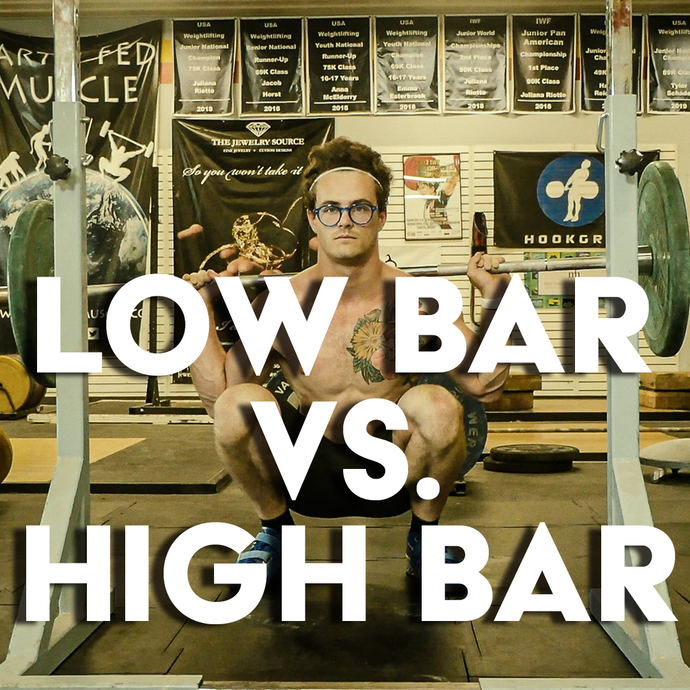 Squat Training: High Bar vs. Low Bar