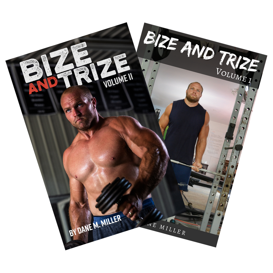 Bize and Trize E-Book Stack