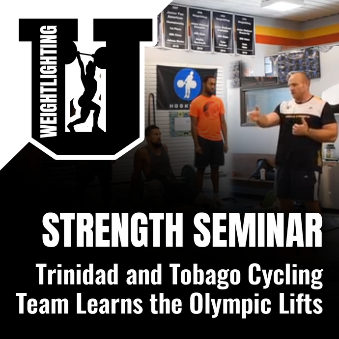 Live Seminar Playback: Strength Seminar with Trinidad and Tobago Cycling