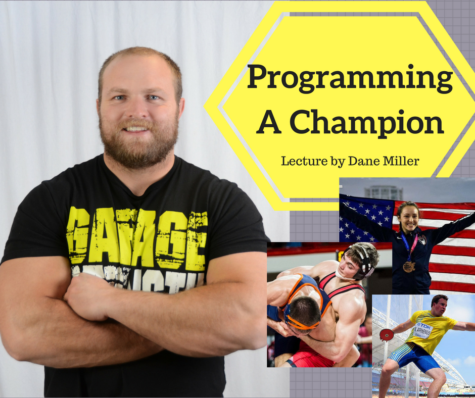 Programming A Champion Lecture