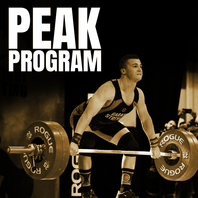 Peak Program - Olympic Weightlifting