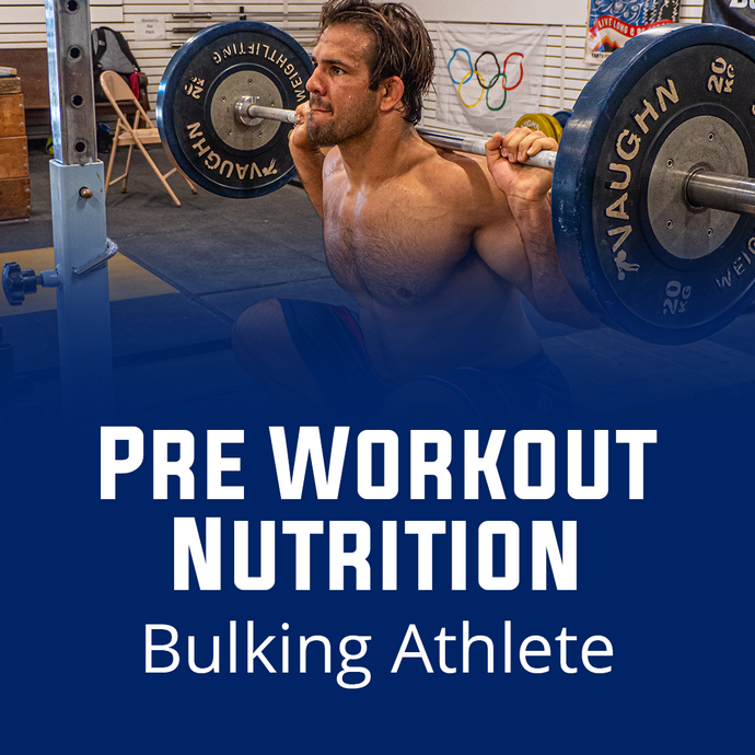 Pre Workout Nutrition For Bulking