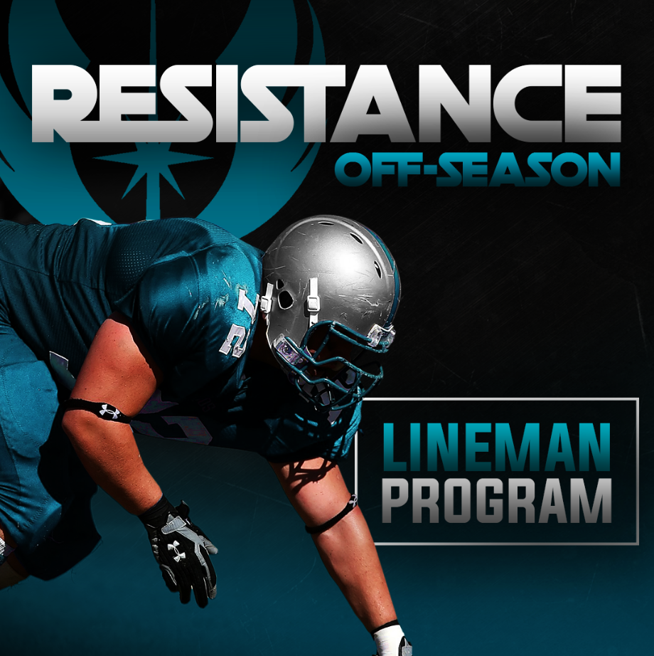 Resistance Off-Season Football Lineman Program