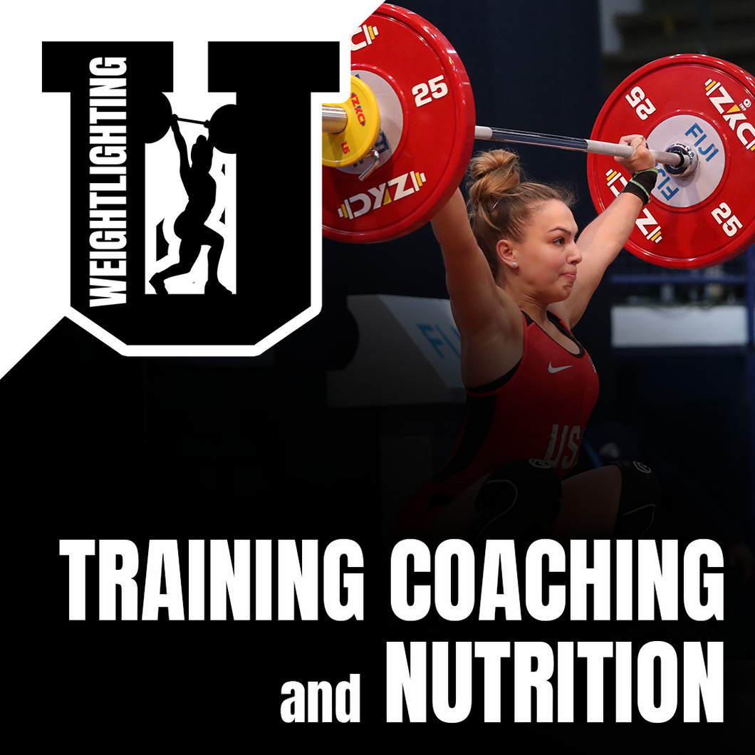 Weightlifting U: Training, Coaching, and Nutrition