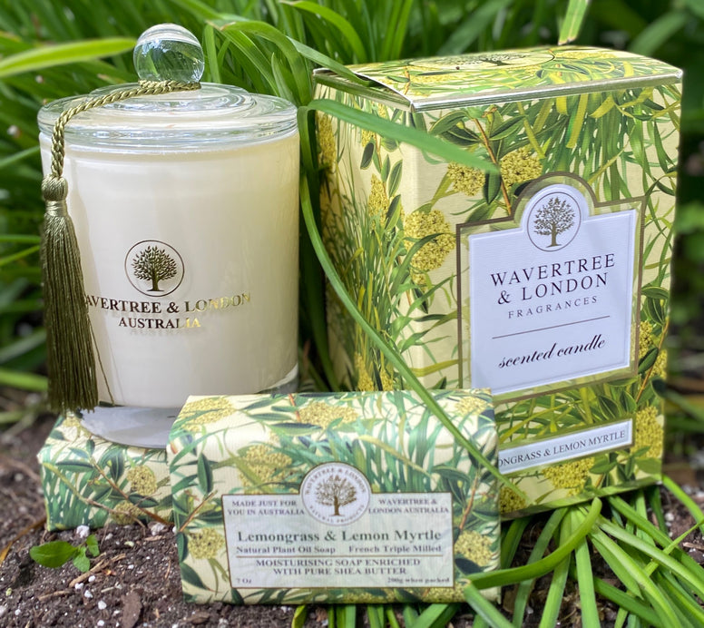 Wavertree and London Lemongrass and Lemon Myrtle Candle