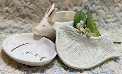 Shaped Ceramic Dishes