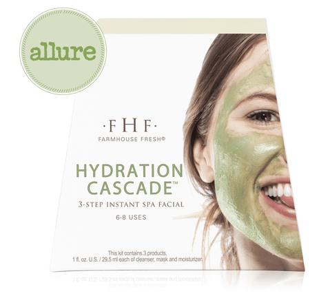Hydration Cascade Face Mask