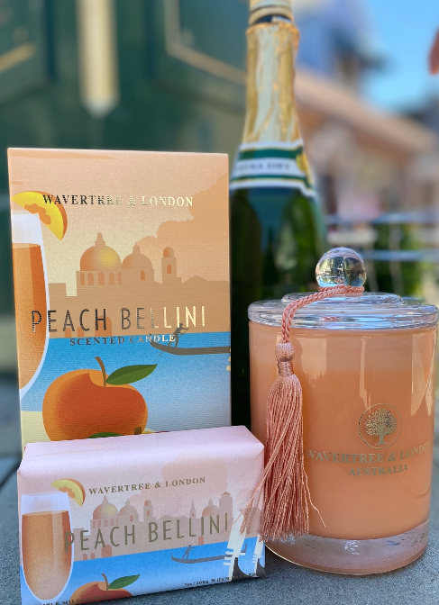Wavertree and London Peach Bellini
