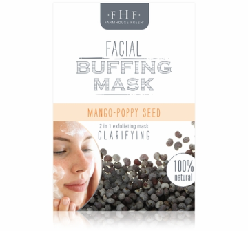 Mango Poppy Facial Buffing Mask