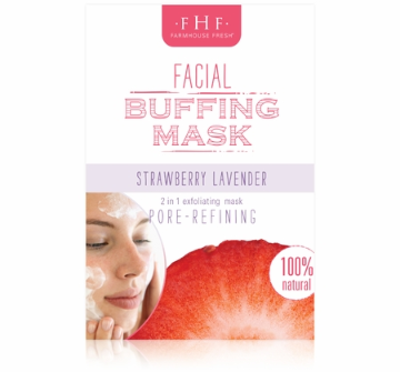 Strawberry Lavender Facial Buffing Mask