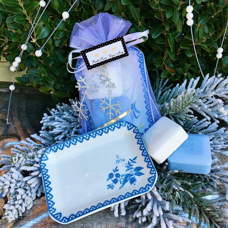 Guest Soap and Dish Gift Set