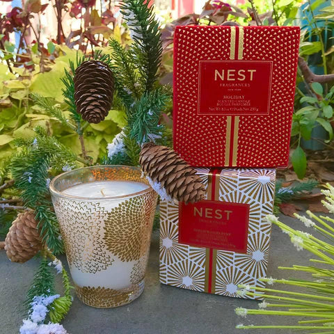 Nest Christmas Candles