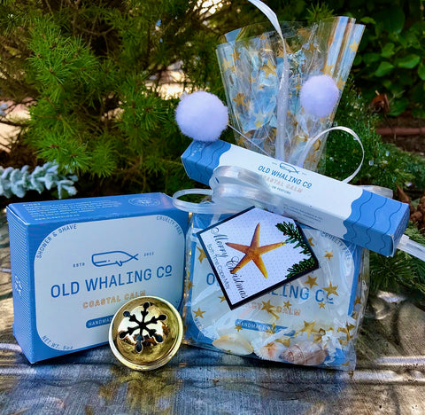 Old Whaling Co. Bar Soap and Rollette Gift