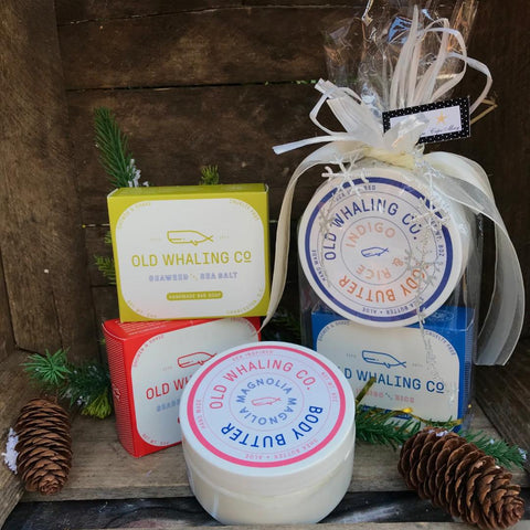 Old Whaling Co. Bar Soap and Body Butter
