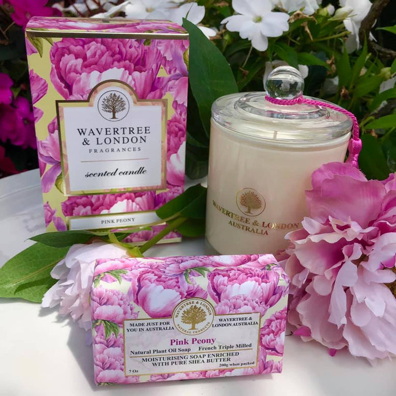 Wavertree and London Peony Candle
