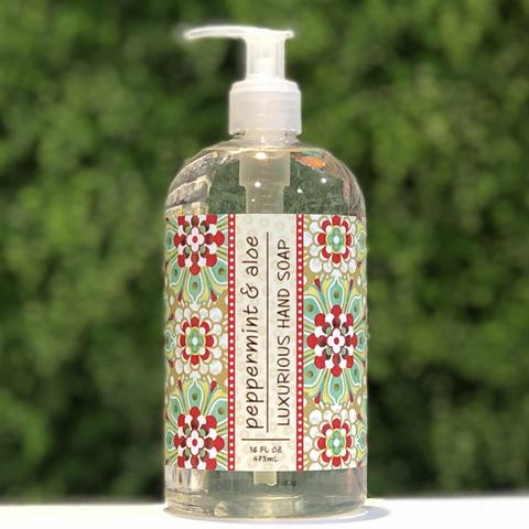 Greenwich Bay Peppermint Aloe Hand Soap
