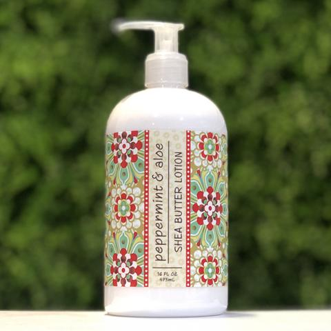 Greenwich Bay Peppermint Aloe Lotion