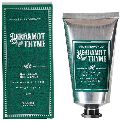 Bergamot and Thyme Shave Cream