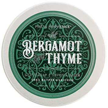 Bergamot and Thyme Shave Soap