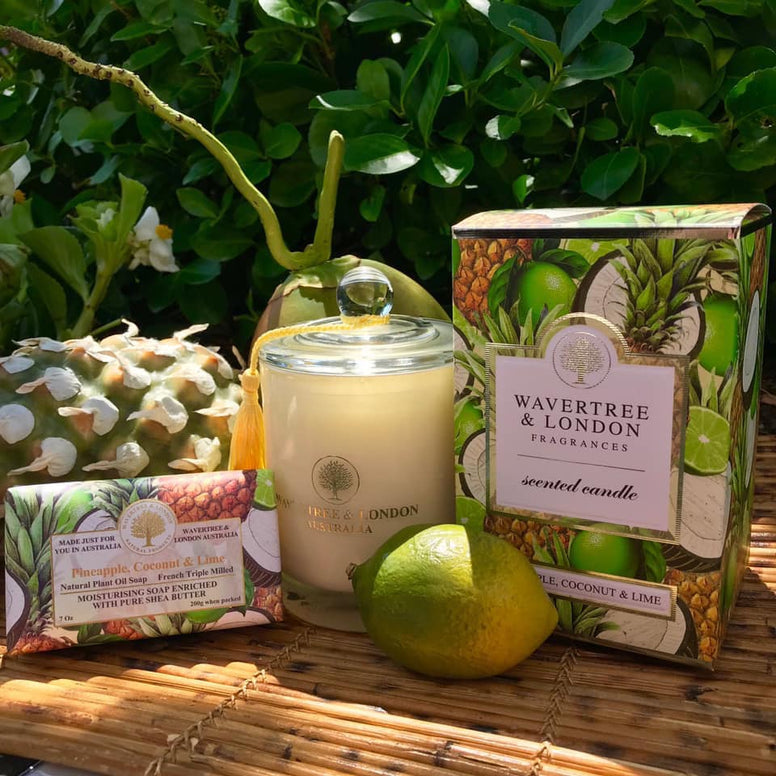 Wavertree and London Pineapple, Coconut, and Lime Candle