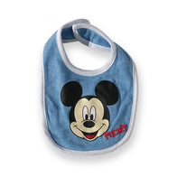 Mickey Mouse Blue Bib