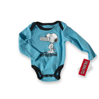 Snoopy Blue Feed Me Onesie