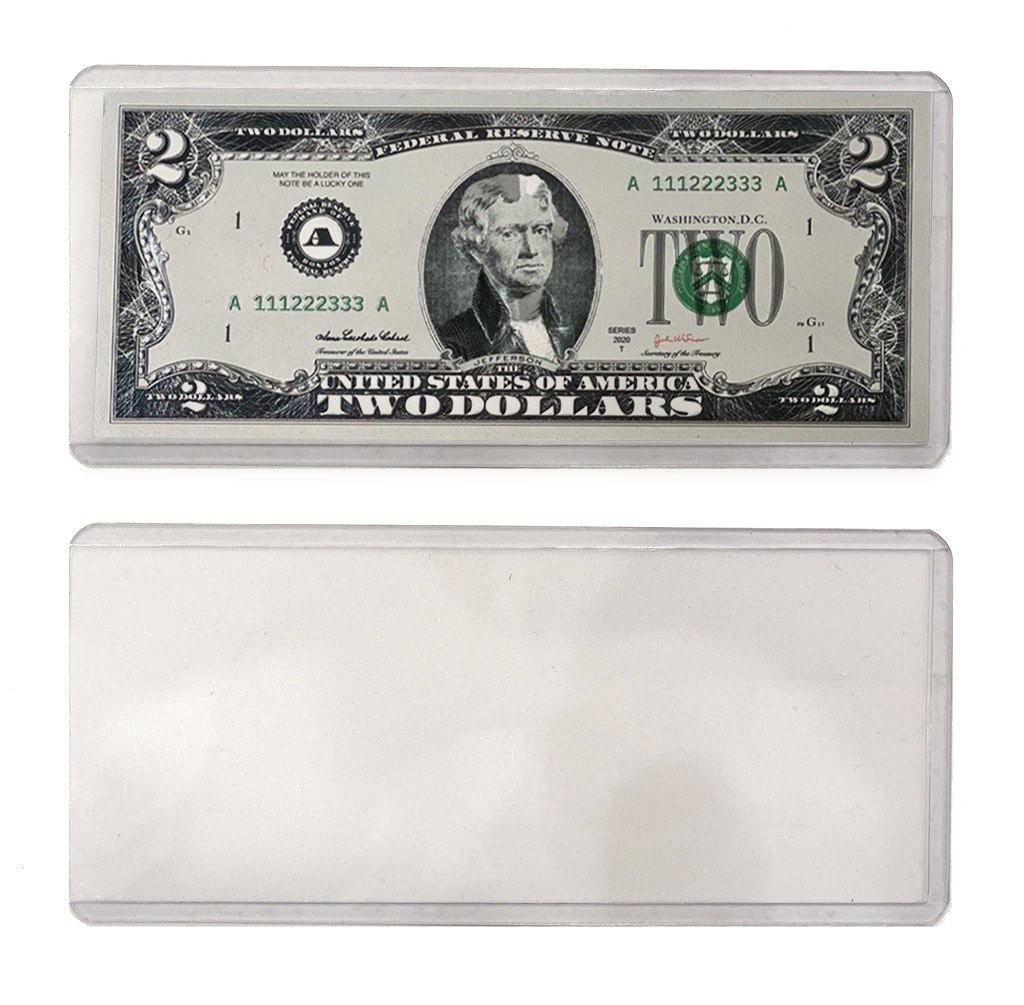 Protective Case For Bank Note (Bill Sold Separately)