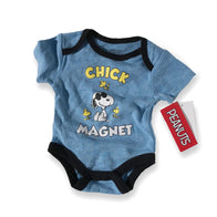 Snoopy Chick Magnet Onesie
