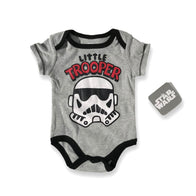 Star Wars Grey Little Trooper Onesie