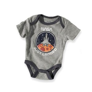NASA Grey Just Landed Onesie
