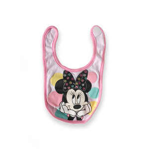 Minnie Mouse Pink Polka-Dot Bib