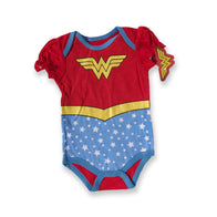 Wonder Woman Red & Blue Onesie
