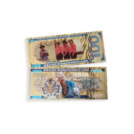 Tiger King $100 GOLD Bill