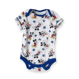 Mickey Mouse White Onesie