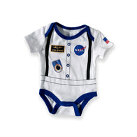 NASA White Onesie