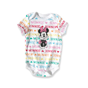 Minnie Mouse Multi-Color Onesie