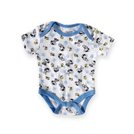 Snoopy & Woodstock White Onesie