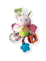 Happy Monkey Colorful Butterfly Teether Toy