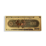 Cancer $100 Gold Bill