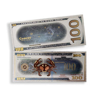 Cancer $100 SILVER Bill