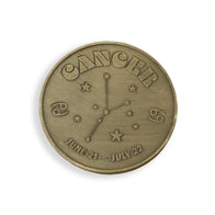 Cancer Zodiac Sign Coin