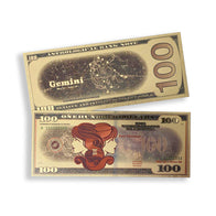 Gemini $100 GOLD Bill