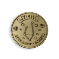 Libra Zodiac Sign Coin
