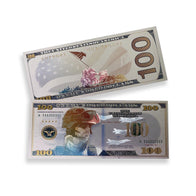 $100 Support Our Troops Charitable White Gold Banknote